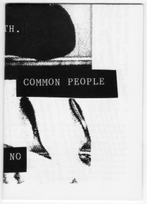 Common People zine