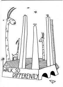 Walk so differently
