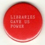 Librarie gave us power badge