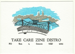 Take Care Postcard
